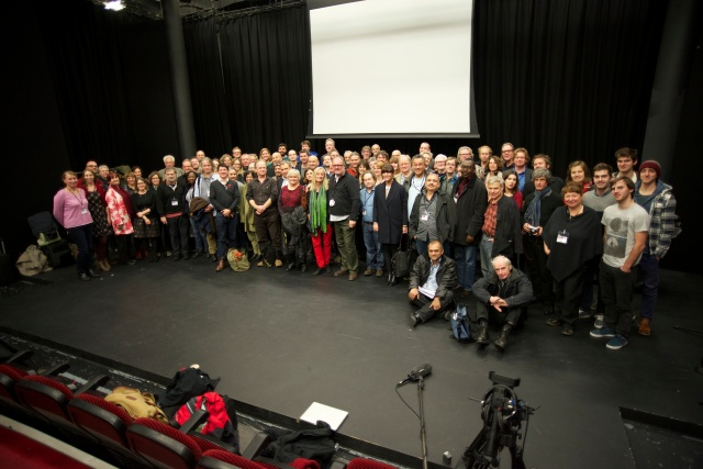 "Over 80 delegates from 27 countries spent two and a half days eating, drinking, talking and sharing ideas: GEECT ""Teaching Documentary Symposium, Cardiff November 5-7th 2014"